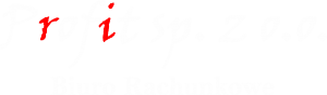 Logo Biuro Rachunkowe Profit
